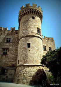 Το Παλάτι του Μεγάλου Μαγίστρου πύργος