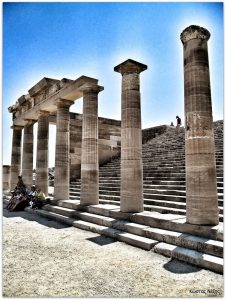 Ακρόπολη της Λίνδου ελληνιστική στοά