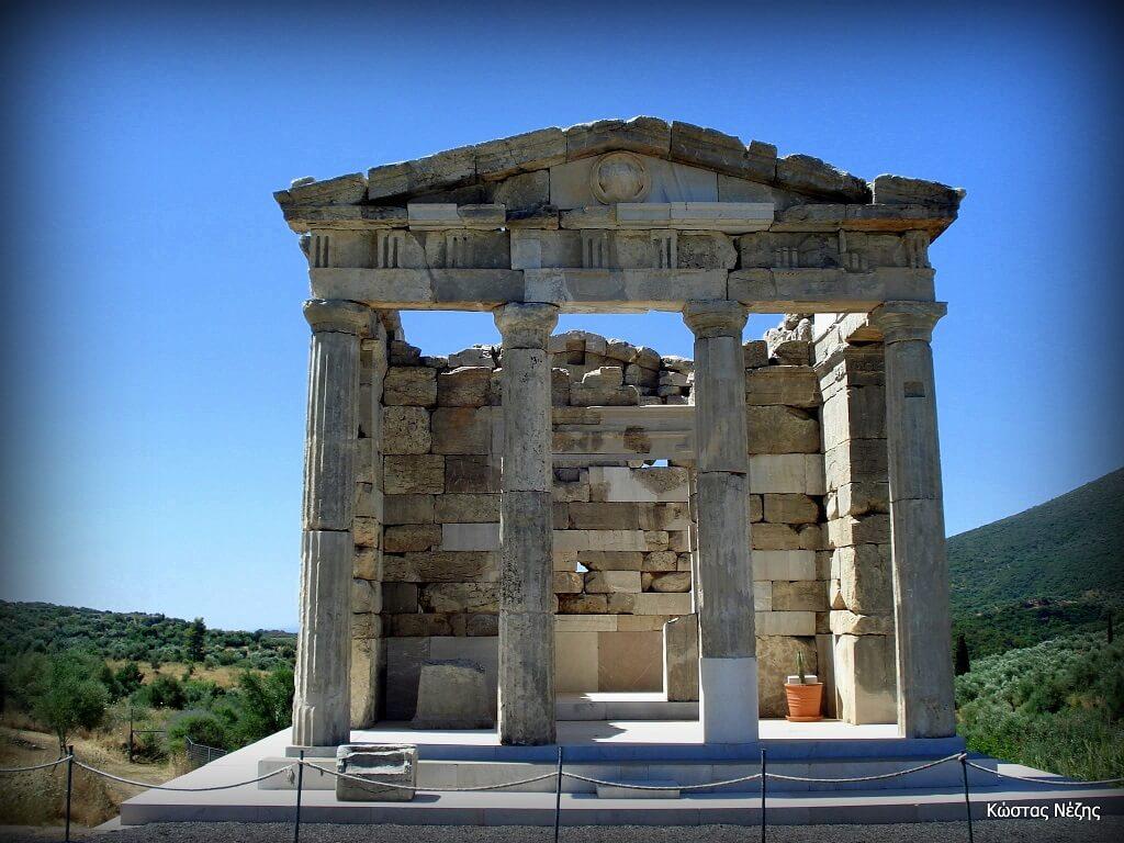 Αρχαία Μεσσήνη μαυσωλείο Σαϊθιδών