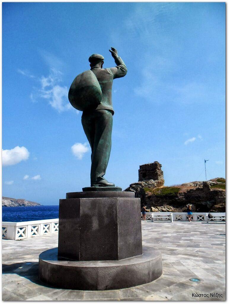 άγαλμα αφανούς ναύτη