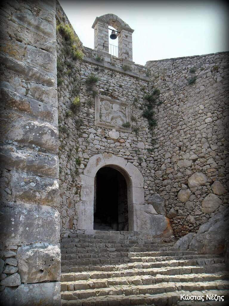 Παλαμήδι. πύλη Αγίου Ανδρέα
