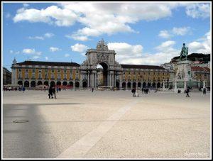 πλατεία Εμπορίου στη Λισαβόνα