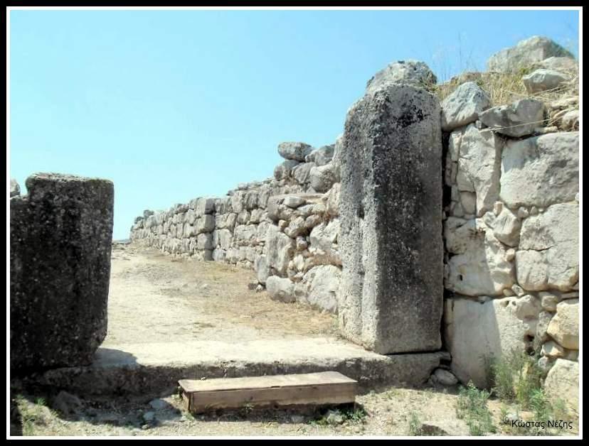 πύλη ανακτόρου Τίρυνθας