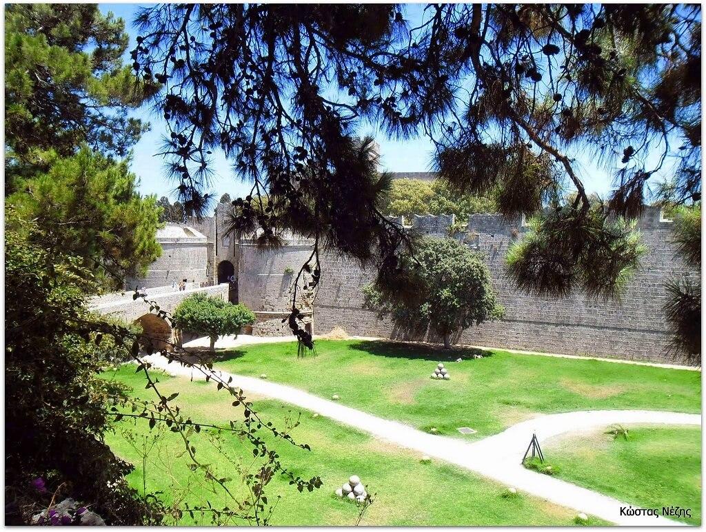 Gate d' Amboise, Old Town Rhodes