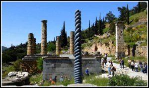 Ναός του Απόλλωνα Δελφοί