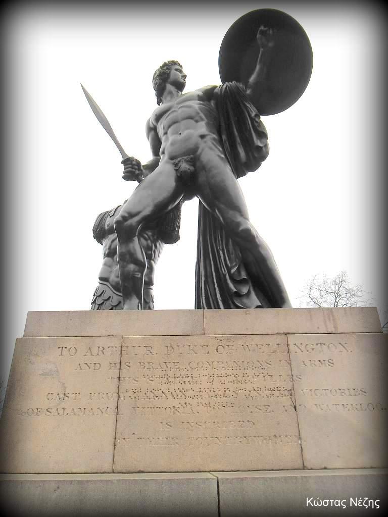 άγαλμα Αχιλλέα στο Hyde Park
