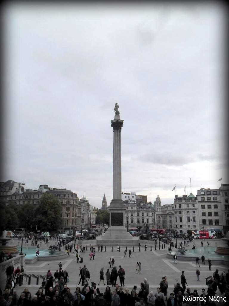πλατεία Τραφάλγκαρ Λονδίνο