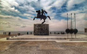 Θεσσαλονίκη. Άγαλμα Μεγάλου Αλεξάνδρου