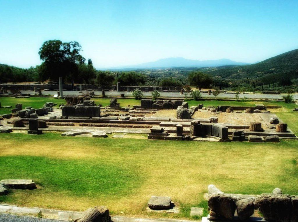Αρχαία Μεσσήνη - Ασκληπιείο